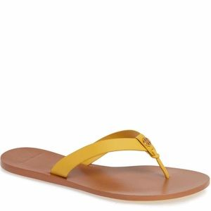 tory burch manon thong flip flop Sandals Sz 9